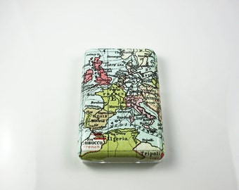 World Map iPod Classic Hard Cover Shell Case 80/120/160 GB 6th 7th generation / iPod Touch 5 Hard Case Shell Skin