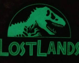 Lost Lands Glow in the Dark Pin