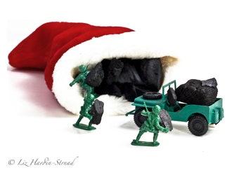 Funny Christmas Gift - War On Xmas Photo #4 of 5, Christmas Decor, Christmas Art, Christmas Photo, White Elephant Gift, Gag Gift