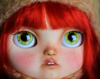Erika. OOAK Custom Icy Doll.