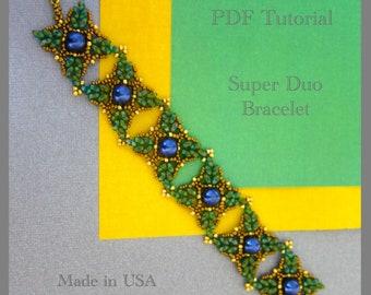 Super Duo Bracelet PDF Tutorial