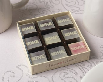 Mine, Mine, Yours Chocolate Box