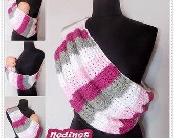 Crochet PATTERN, crochet Baby Sling pattern, crochet baby carrier, Instant Download pdf pattern
