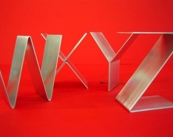 Metal letters freestanding/Initials/Alphabet A-Z signage/Empire