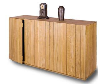 "Simple oak dresser ""nature""/Oak chest of drawers ""nature"""