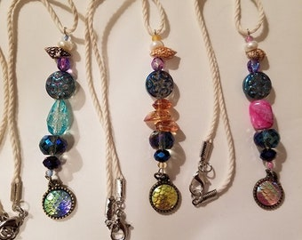 Mermaid Car Charms for Rear View Mirror