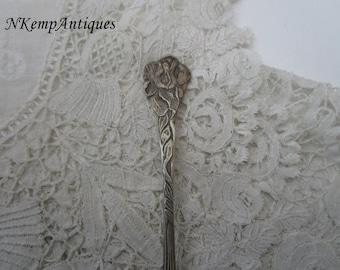 Vintage flower spoon