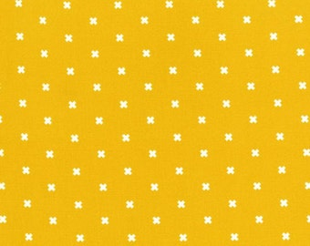 Cotton + Steel Basics Yellow and White X's