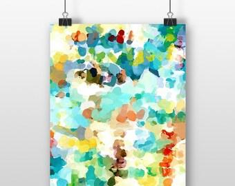 Abstract Art Print, 8x10 Art Print, Abstract Watercolor, 8x10 Abstract, Watercolor Wall Art, 8x10 Watercolor, Gallery Wall