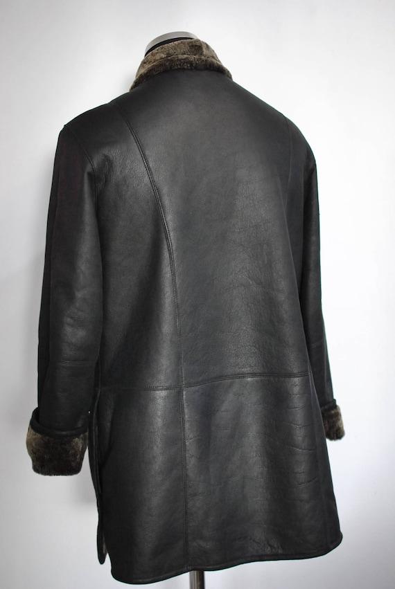 lamb coat LAMB parka FUR 426 women's SHEARLING women's skin Vintage qYwRSB
