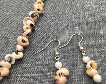 Sea Shell Jewelry Set // Gifts for Her // Holiday Present