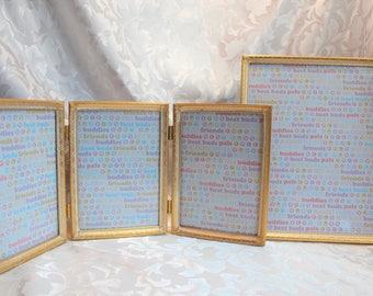 Vintage Picture Frame Set- Photo Frames