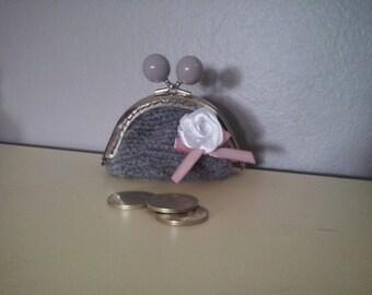 Coin purse gray