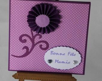 Card celebrating grandmothers, mother, Grandma, grandmother, Grandma