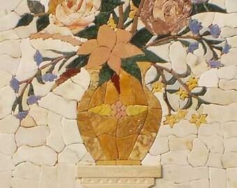 Pietra Dura- Floral Tile Mosaic Patterns