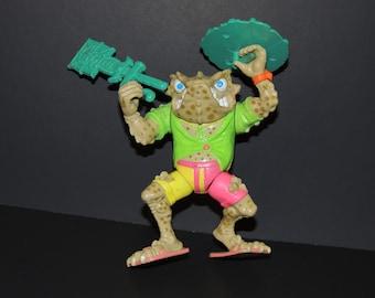 1990 Napoleon Bonafrog Teenage Mutant Ninja Turtles TMNT Loose Action Figure