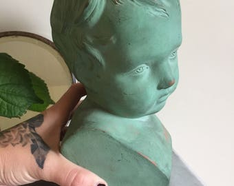 Pottery of young child