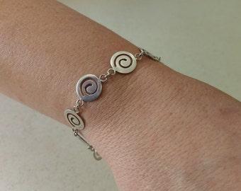 Handmade Solid 925 Sterling silver bracelet
