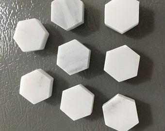 8 MARBLE MAGNETS