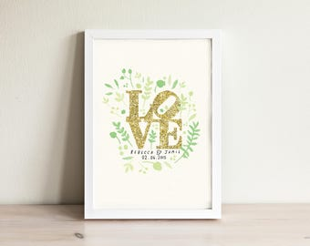 Custom Wedding Print