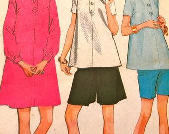 Very Cute Vintage Maternity Wardrobe Pattern---McCalls 9094---Size 16  Bust 38  UNCUT