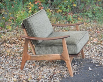 Midcentury Modern, Accent Chair, Furniture, Lounge, Chair, Danish, Modern, Easy Chair, Wood, Retro, Living Room, Home Décor, Décor, Beech
