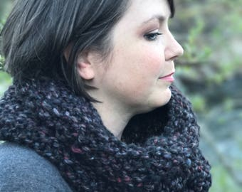 Extra Large Cowl, Handknit