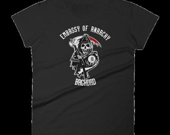 EMBASSY OF anarchy womens TEE