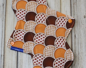 "10"" regular cloth pad/ incontinence pad/ mama cloth/ cotton lycra / Made by Mother"