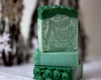Fresh Evergreen Soap
