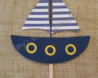 Nautical cake topper Etsy