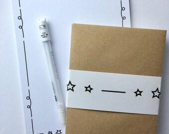 Star Stationery Letter Set
