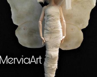 OOAK Ever After High,Monster High Doll repaint, Aurora Doll by MerviaArt