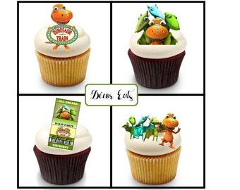 Dinosaur Train Edible Image, Cake Image, Cupcake topper, Dinosaur Train  Birthday, edible