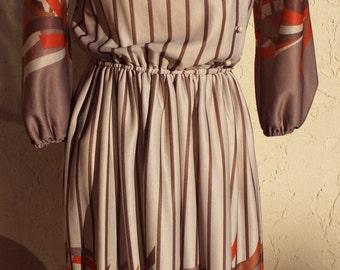 Vintage Long Sleeve Dress by Coras Closet