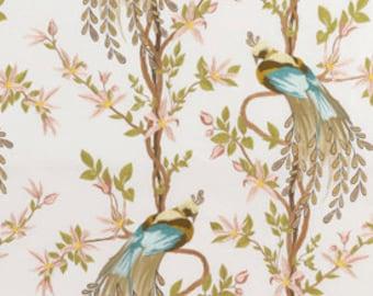 "Nina Campbell for Osborne and Little ""Paradiso"" Fabric Drapery Panels"