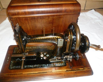 Antique Frister & Rossmann Manual Sewing Machine 600101