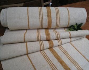 antique hemp linen roll 2meters handloomed upholstery curtain roman blind