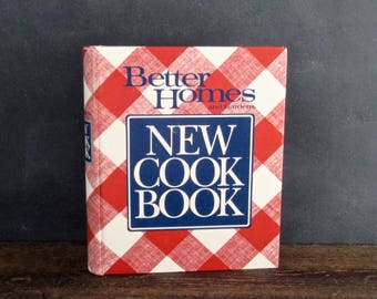 Better Homes & Gardens New Cookbook, 1989 Hardcover, Cook Books, Recipe Book, Meal Planning , FREE SHIPPING