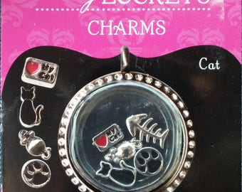 Cat Charms by Blue Moon Beads