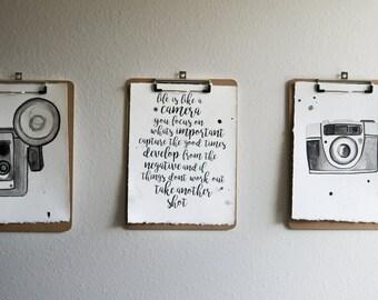 Camera Prints (3)