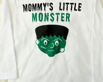 Mommy's Little Monster -Halloween shirt