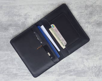 Personalized passport cover Leather passport cover Travel passport cover Leather passport holder Travel wallet Passport case Passport wallet