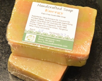 Handcrafted 'Energy' Goats Milk Soap