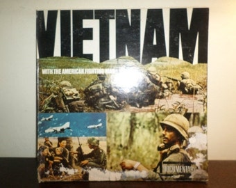 Vintage 1966 Vinyl LP Record Vietnam with the American Fighting Man Very Good Condition 9238