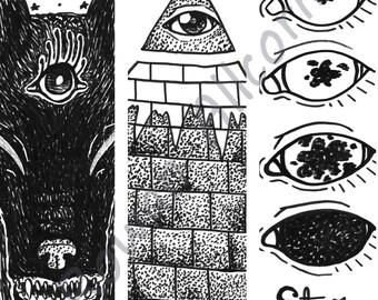Eyes - Bookmarks