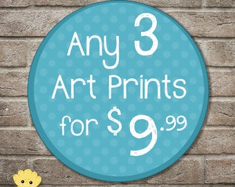 Art Prints on Sale - fan art - collectible - cartoons - limited quantities