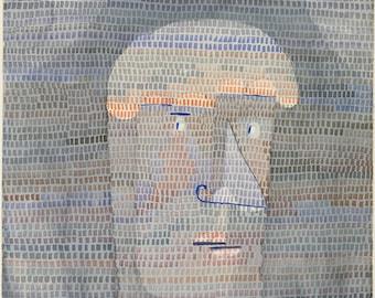 Paul Klee: Athlete's Head. Fine Art Print/Poster (4990)