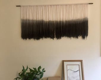 Coast Range || Dip Dye Wall Hanging || Copper + Sage Design