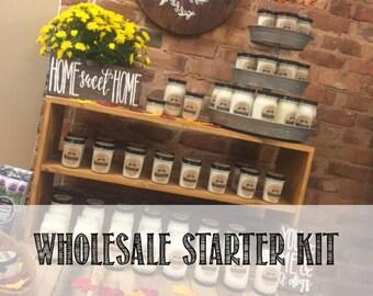 Wholesale Candle, Wholesale Sample, Candle Sample, Wholesale Starter, Wholesale Kit, New to Wholesale, Wholesale Candles, Custom Wholesale